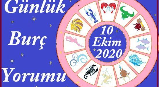 10 EKİM 2020 CUMARTESİ GÜNÜ BURÇ YORUMU