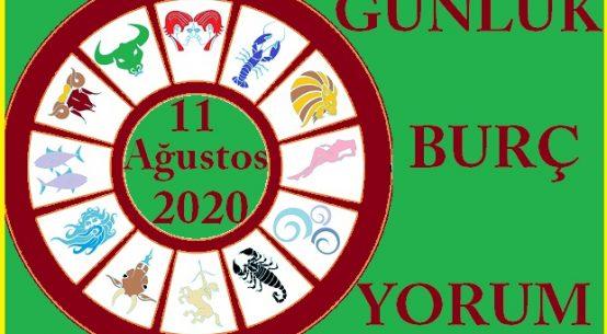 11 AĞUSTOS 2020 SALI GÜNÜ BURÇ YORUMU