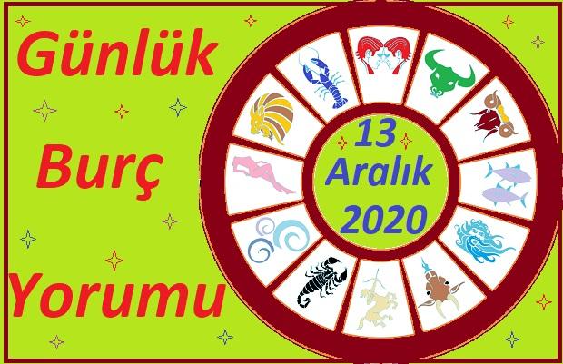 13 ARALIK 2020 PAZAR GÜNÜ BURÇ YORUMU