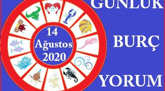 14 AĞUSTOS 2020 CUMA GÜNÜ BURÇ YORUMU