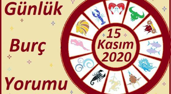 15 KASIM 2020 PAZAR GÜNÜ BURÇ YORUMU