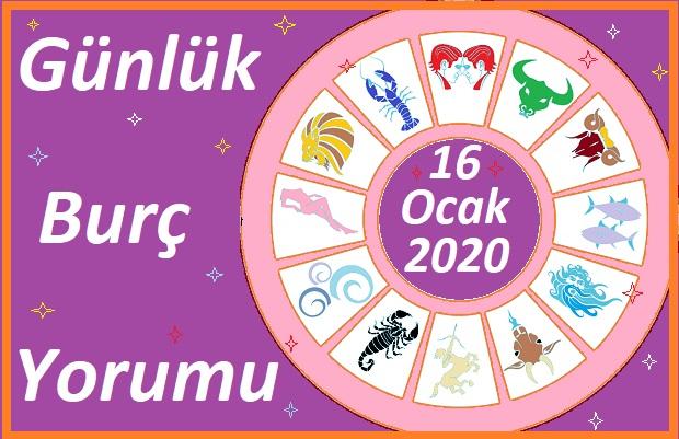 16 OCAK 2021 CUMARTESİ GÜNÜ BURÇ YORUMU