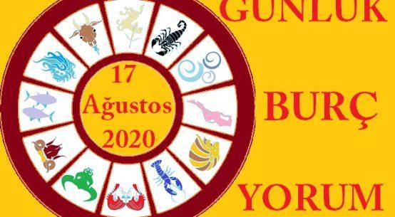 17 AĞUSTOS 2020 PAZARTESİ GÜNÜ BURÇ YORUMU