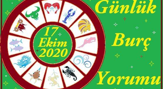 17 EKİM 2020 CUMARTESİ GÜNÜ BURÇ YORUMU