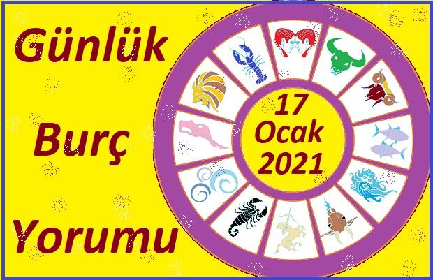 17 OCAK 2021 PAZAR GÜNÜ BURÇ YORUMU