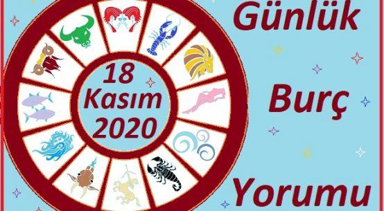 18 KASIM 2020 ÇARŞAMBA GÜNÜ BURÇ YORUMU