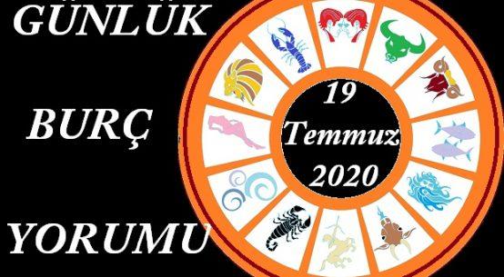 19 TEMMUZ 2020 PAZAR GÜNÜ BURÇ YORUMU