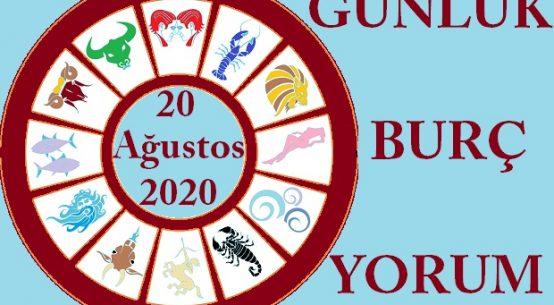 20 AĞUSTOS 2020 PERŞEMBE GÜNÜ BURÇ YORUMU