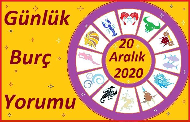 20 ARALIK 2020 PAZAR GÜNÜ BURÇ YORUMU