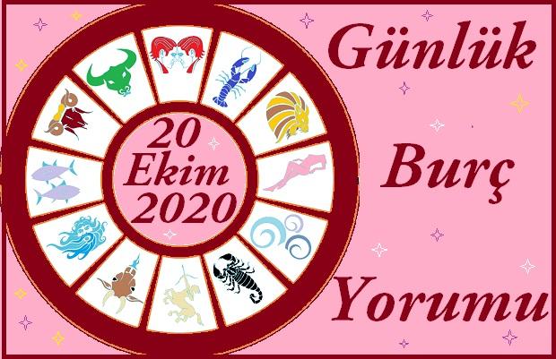 20 EKİM 2020 SALI GÜNÜ BURÇ YORUMU