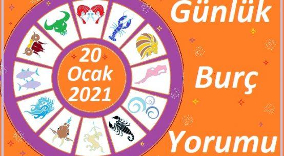 20-OCAK 2021 ÇARŞAMBA GÜNÜ BURÇ YORUMU