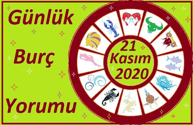 21 KASIM 2020 CUMARTESİ GÜNÜ BURÇ YORUMU