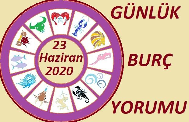23 HAZİRAN SALI GÜNLÜK BURÇ YORUMLARI