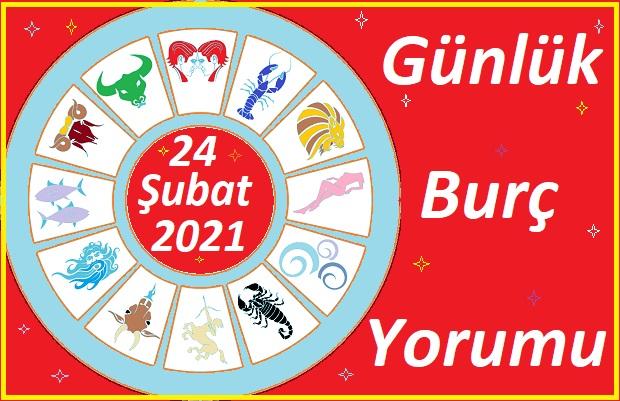 24 ŞUBAT 2021 ÇARŞAMBA GÜNÜ TÜM BURÇLARIN ASTROLOJİ YORUMU