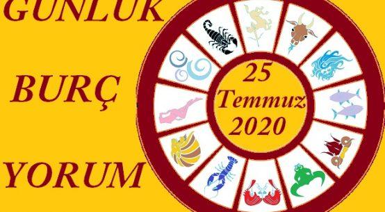 25 TEMMUZ 2020 CUMARTESİ GÜNLÜK BURÇ YORUMUN