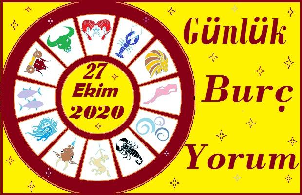 27 EKİM 2020 SALI GÜNÜ BURÇ YORUMU