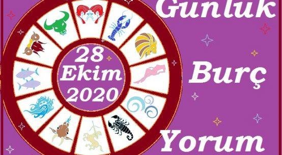 28 EKİM 2020 ÇARŞAMBA GÜNÜ BURÇ YORUMU
