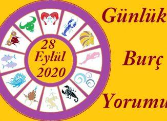 28 EYLÜL 2020 PAZARTESİ GÜNÜ BURÇ YORUMU