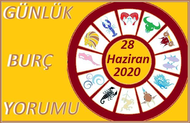 28 HAZİRAN 2020 PAZAR GÜNÜ BURÇ YORUMU