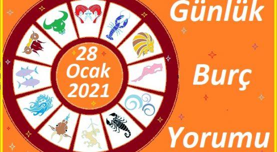 28-OCAK 2021 PERŞEMBE GÜNÜ BURÇ YORUMU