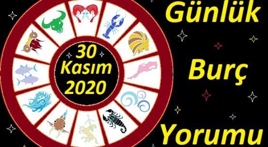 30 KASIM 2020 PAZARTESİ GÜNÜ BURÇ YORUMU