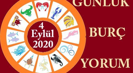 4 EYLÜL 2020 CUMA GÜNÜ BURÇ YORUMU