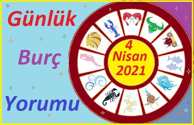 4 NİSAN 2021 PAZAR GÜNÜ TÜM BURÇLARIN ASTROLOJİ YORUMU