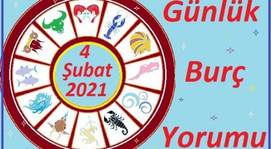 4 ŞUBAT 2021 PERŞEMBE GÜNÜ BURÇ YORUMU
