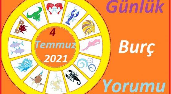 4 TEMMUZ 2021 PAZAR GÜNÜ TÜM BURÇLARIN ASTROLOJİ YORUMU