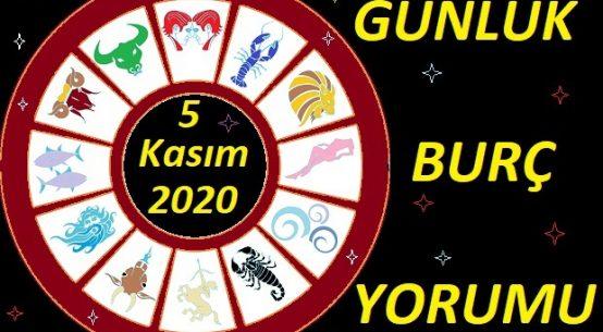 5 KASIM 2020 PERŞEMBE GÜNÜ BURÇ YORUMU