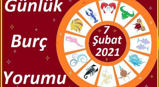 7 ŞUBAT 2021 PAZAR GÜNÜ BURÇ ASTROLOJİ YORUMU