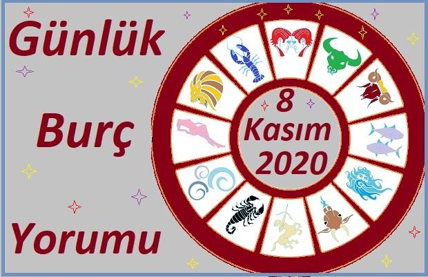 8 KASIM 2020 PAZAR GÜNÜ BURÇ YORUMU