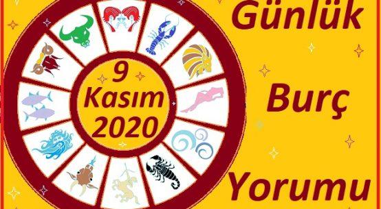 9 KASIM 2020 PAZARTESİ GÜNÜ BURÇ YORUMU