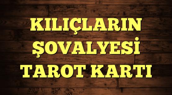 KILIÇLARIN ŞOVALYESİ TAROT KARTI