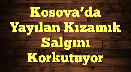 Kosova'da Yayılan Kızamık Salgını Korkutuyor