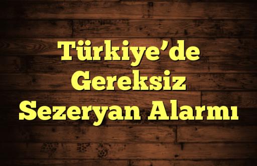 Türkiye'de Gereksiz Sezeryan Alarmı