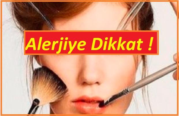 Kozmetik alerjisi nedenleri ve çözümleri