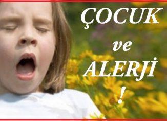 Çocuklarda Alerji sorunu ve çözümleri