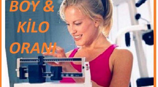 ideal kadın kilo boy oranı nasıl hesaplanır