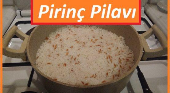 En kolay ve lezzetli pirinç pilavı Tarifi