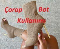 Çorap Bot Kombinleri