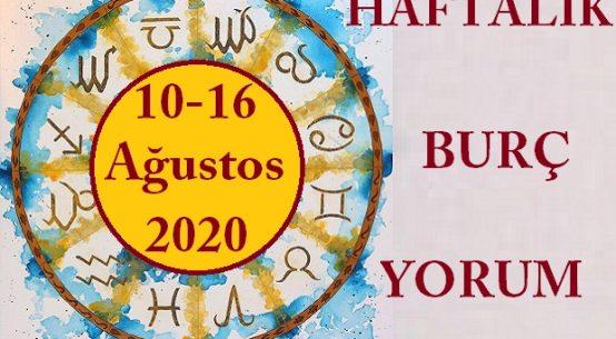 10-16 AĞUSTOS HAFTALIK ASTROLOJİK BURÇ YORUMU