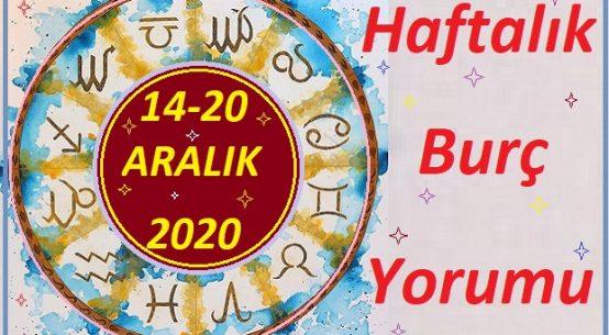 14-20 ARALIK 2020 BÜTÜN BURÇLARIN HAFTALIK YORUMU