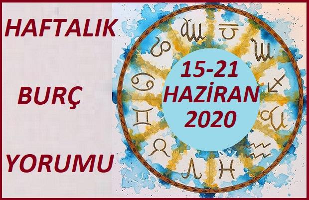 15-21 HAİRAN 2020 HAFTALIK BURÇ