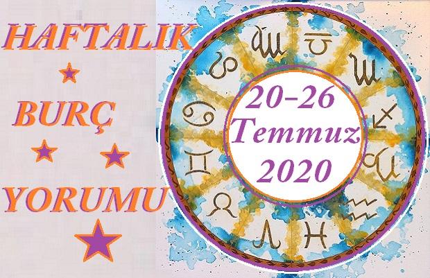 20-26 TEMMUZ HAFTALIK ASTROLOJİK BURÇ YORUMU