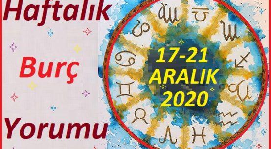 21-27-ARALIK 2020 BÜTÜN BURÇLARIN HAFTALIK YORUMU