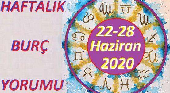 22-28 HAZİRAN 2020 HAFTALIK BURÇ