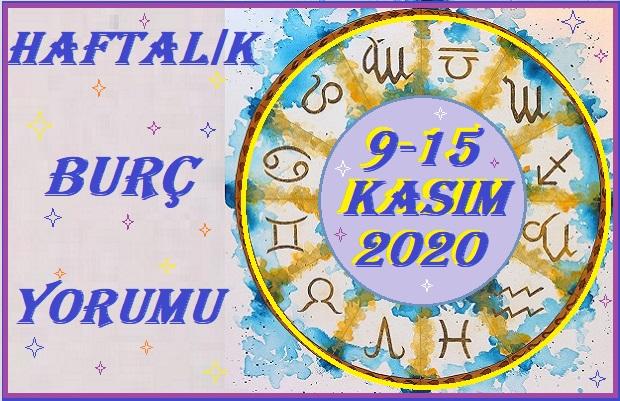 9-15-KASIM 2020 BÜTÜN BURÇLARIN HAFTALIK YORUMU