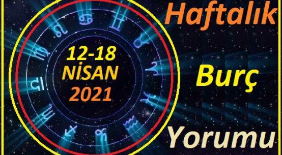 12-18 NİSAN 2021 TÜM BURÇLARIN HAFTALIK BURÇ YORUMLARI