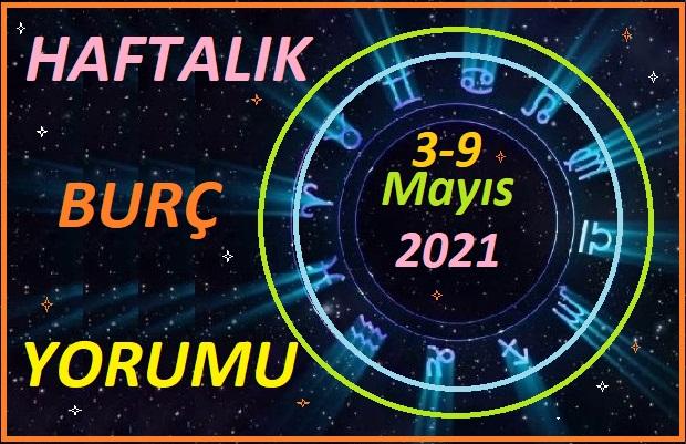 3-9 Mayıs 2021 TÜM BURÇLARIN HAFTALIK BURÇ YORUMLARI